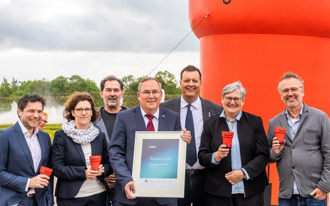 Hannoccino gewinnt GreenTec Award