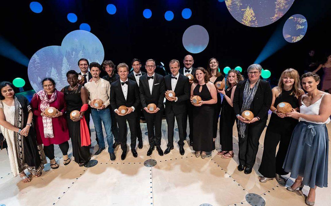 Hannoccino bei der Gala der GreenTec Awards in München