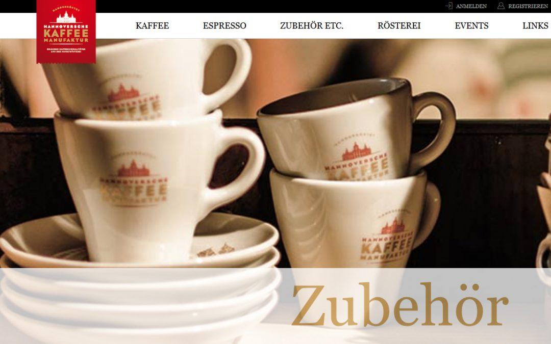 Hannoccino im Online-Shop der Hannoverschen Kaffeemanufaktur