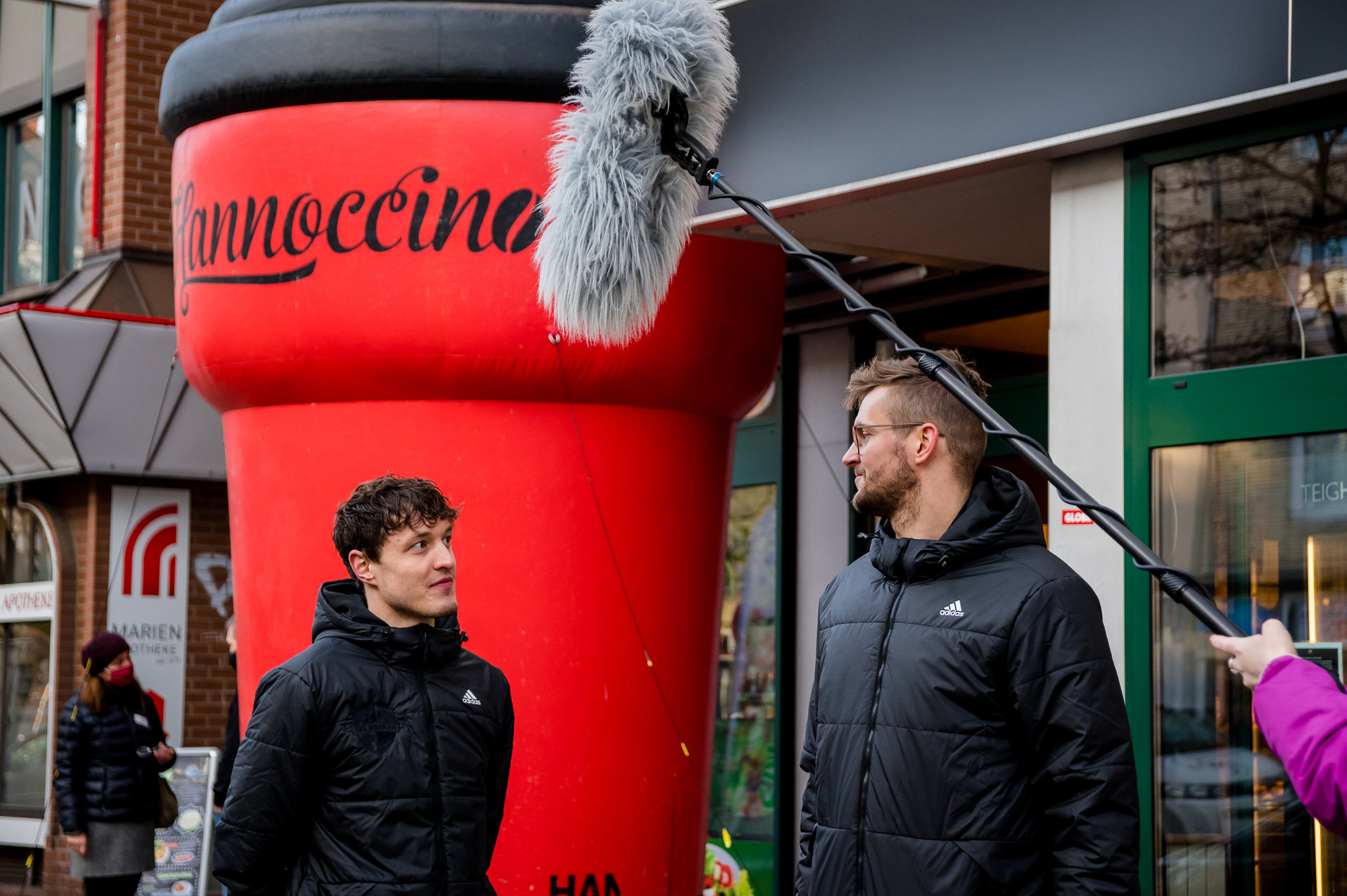 Hannoccino Videodreh